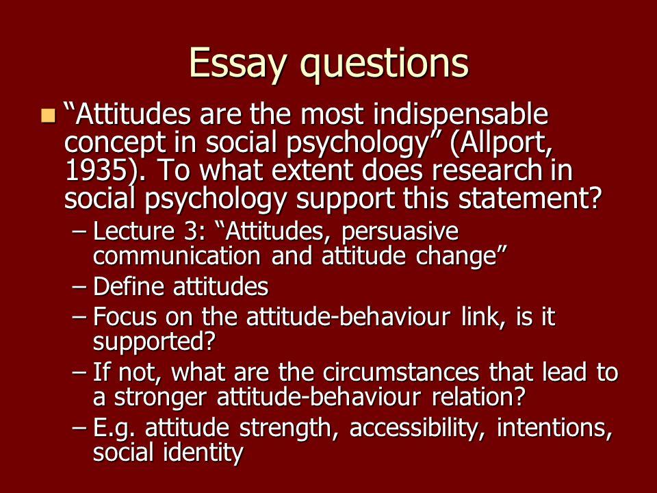 social essay topics