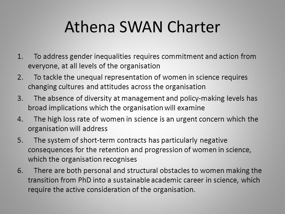 Athena SWAN Charter 1.