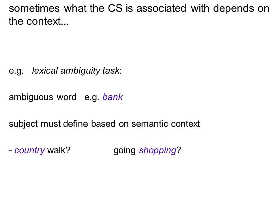 e.g. Continuous performance test (CPT) A x A y B y B y B x A y B y A y A x B x B y