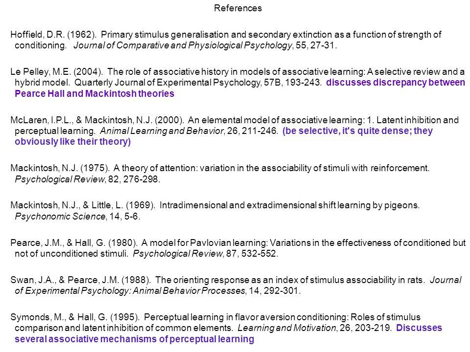 References Hoffield, D.R. (1962).