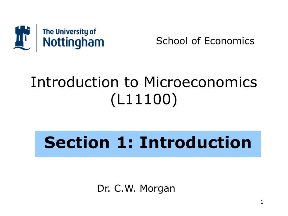 2 Outline 1.1What is Economics.1.2What questions does Economics tackle.