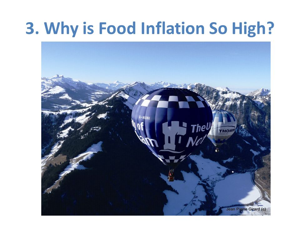 3. Why is Food Inflation So High?