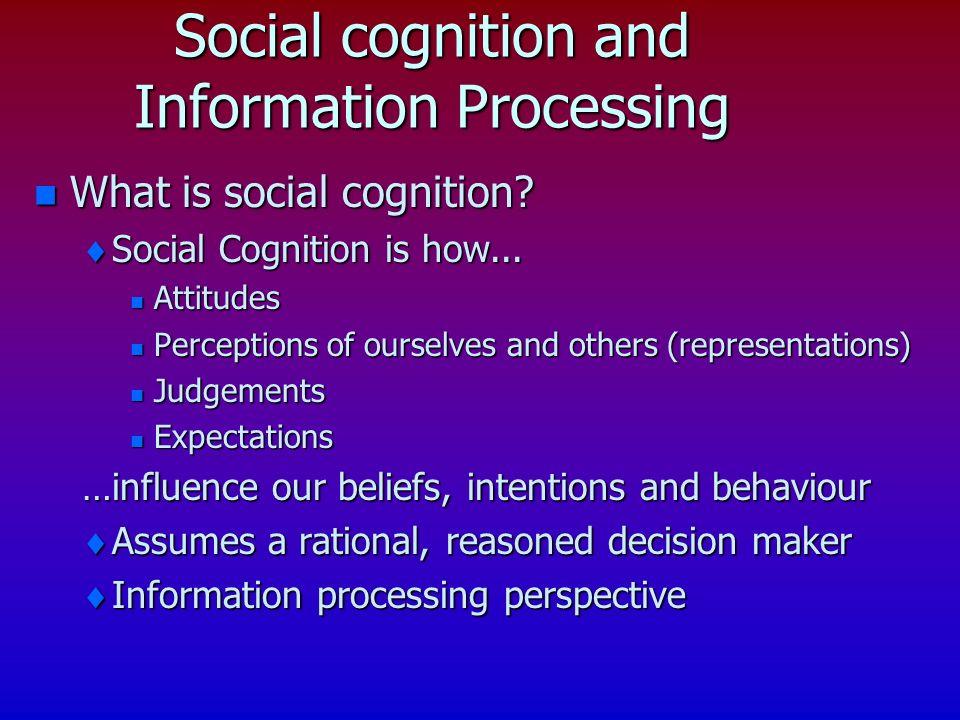 Distinctiveness.Consistency?Consensus.