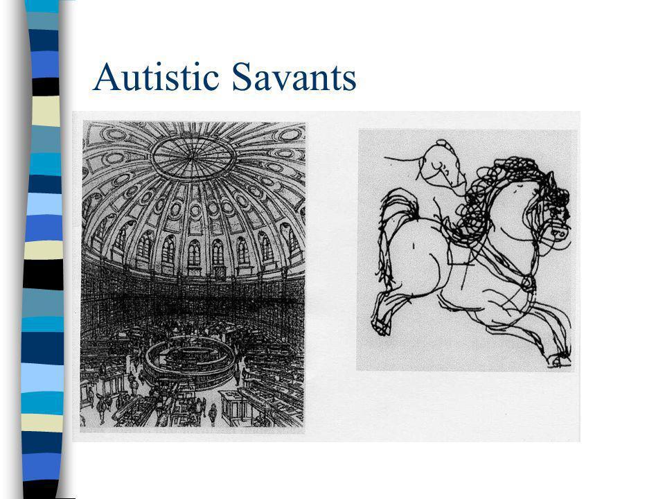 Autistic Savants