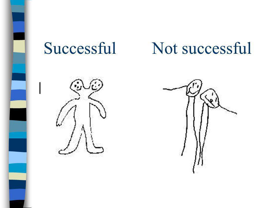 Successful Not successful |