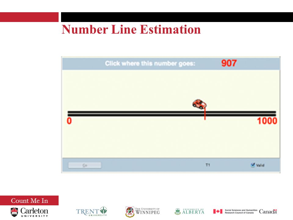 Count Me In Number Line Estimation