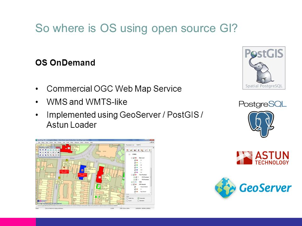 So where is OS using open source GI.