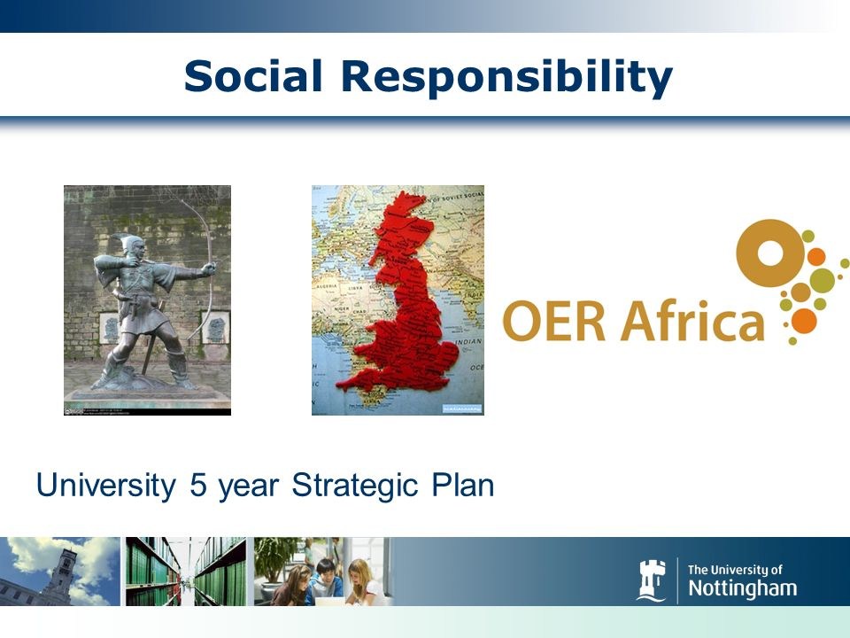 Social Responsibility University 5 year Strategic Plan
