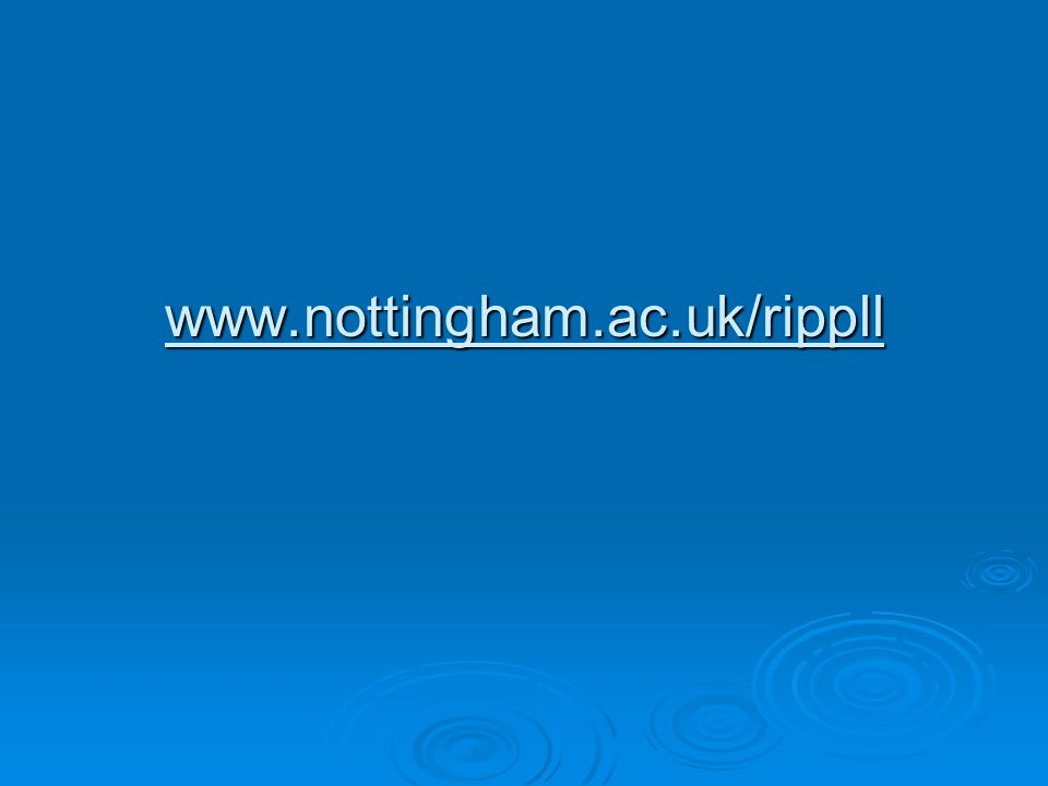 www.nottingham.ac.uk/rippll