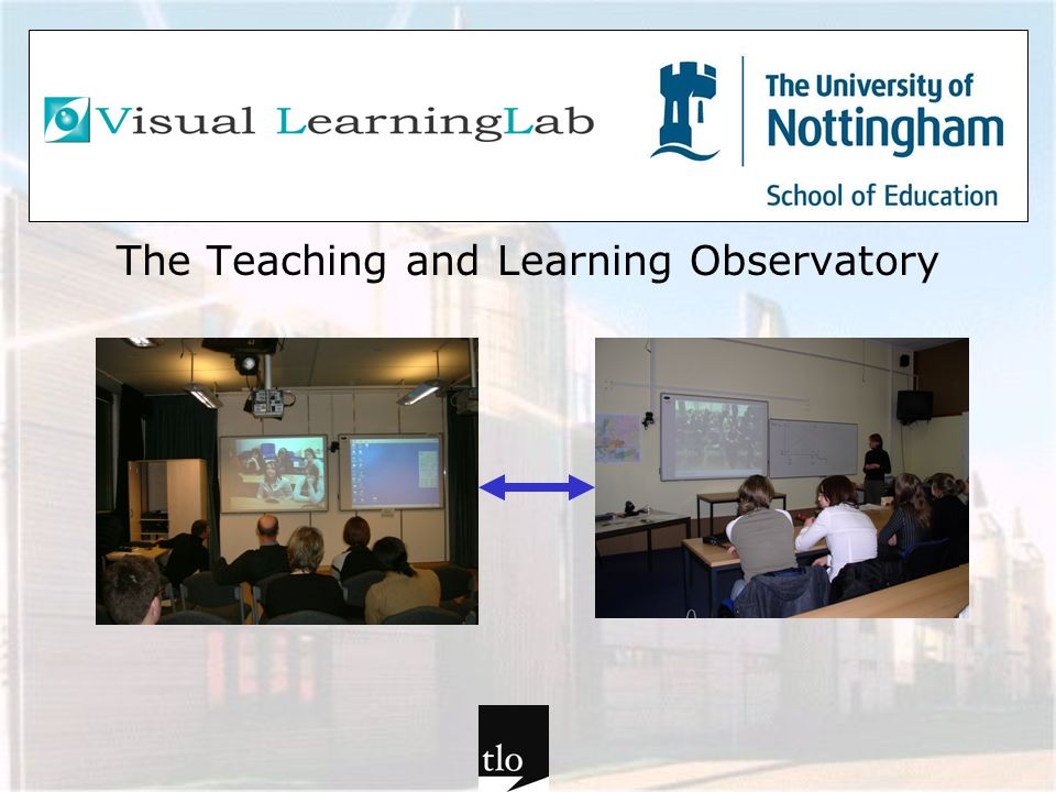 The Teaching and Learning Observatory - some examples TLO lesson observation TLO teaching Pupils views Students views Trainers views