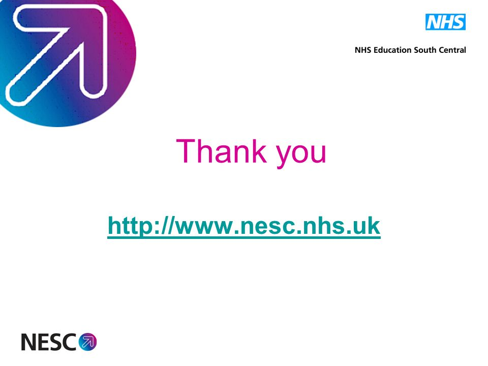 Thank you http://www.nesc.nhs.uk