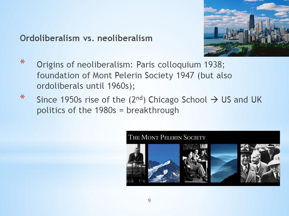 9 Ordoliberalism vs.