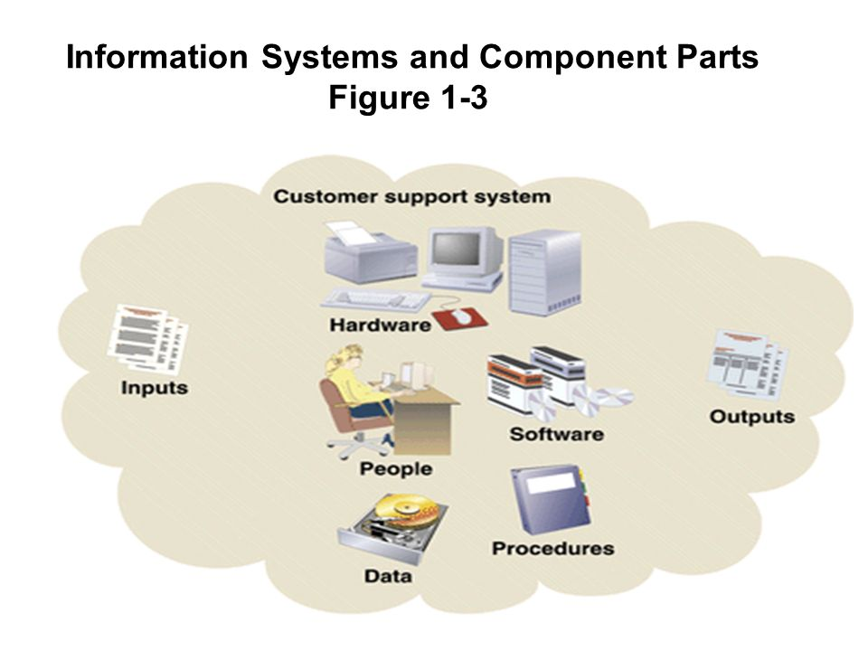 6 1 Information Systems and Component Parts Figure 1-3