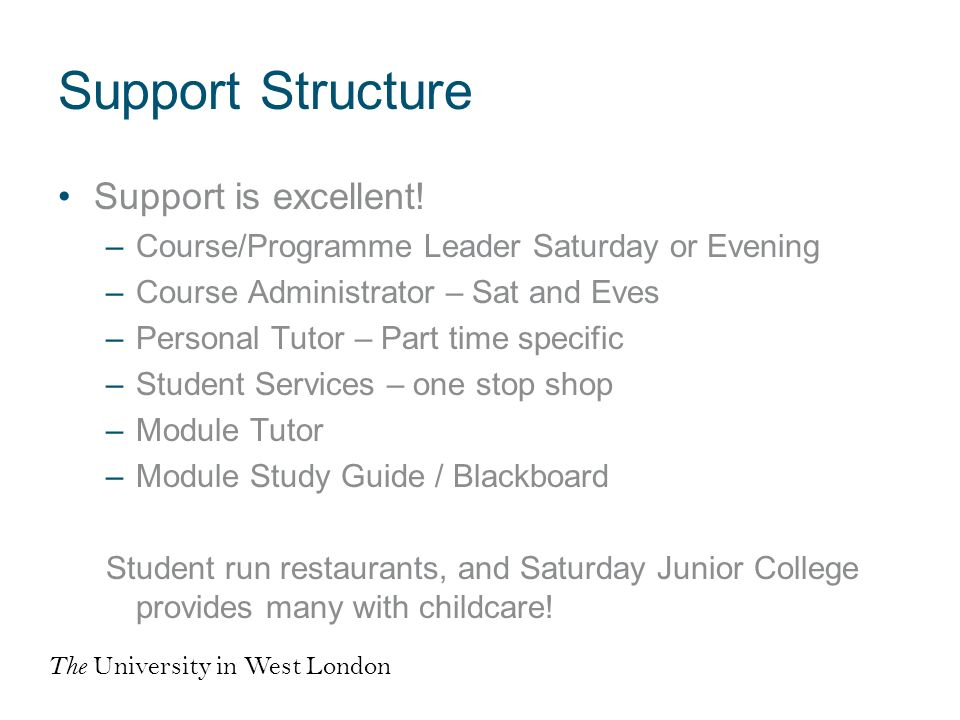 Support Structure Support is excellent.
