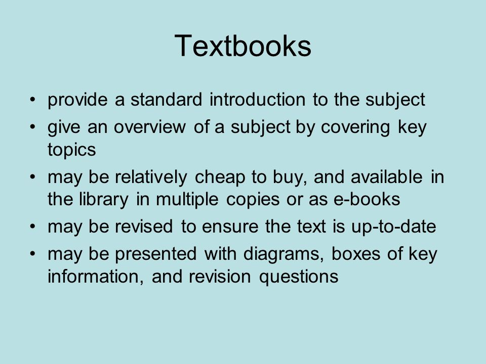An example of a textbook Bryman, A.(2008) Social Research Methods.