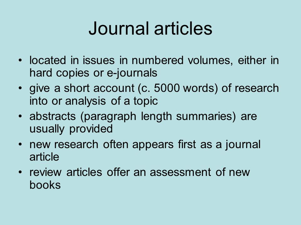 An example of a journal article Lister, R., Smith, N., Middleton, S.