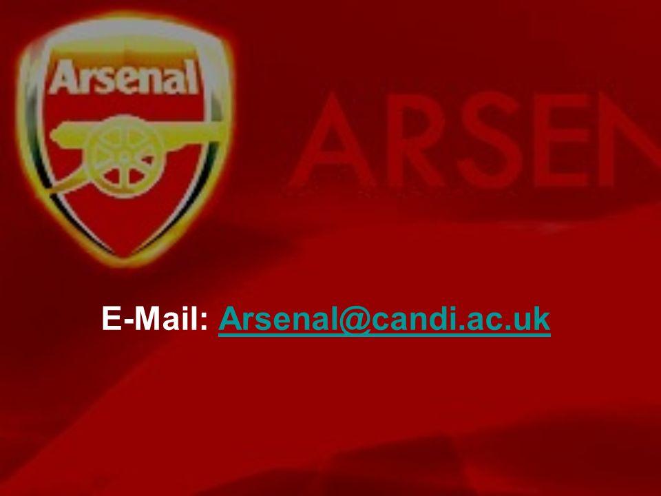 E-Mail: Arsenal@candi.ac.ukArsenal@candi.ac.uk