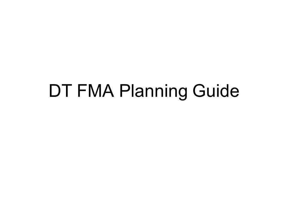 DT FMA Planning Guide