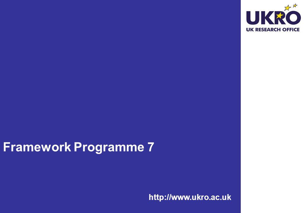 http://www.ukro.ac.uk Framework Programme 7