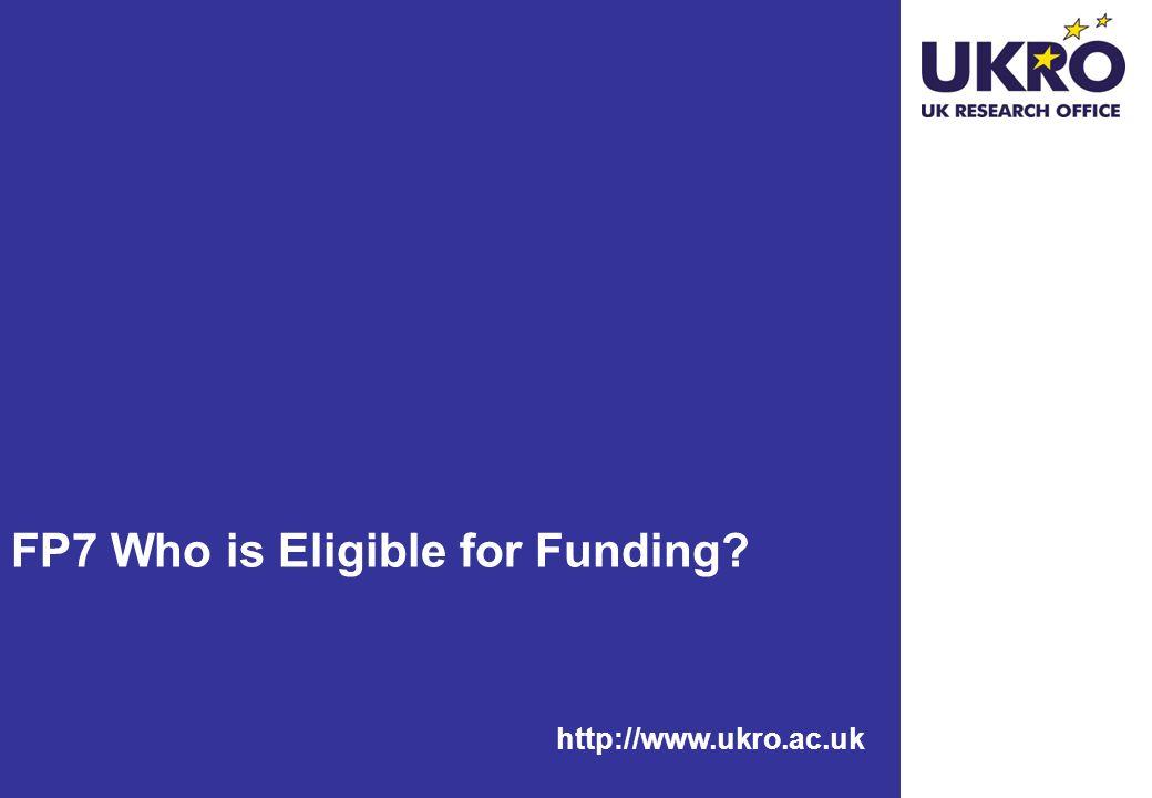 http://www.ukro.ac.uk Joint Technology Initiatives