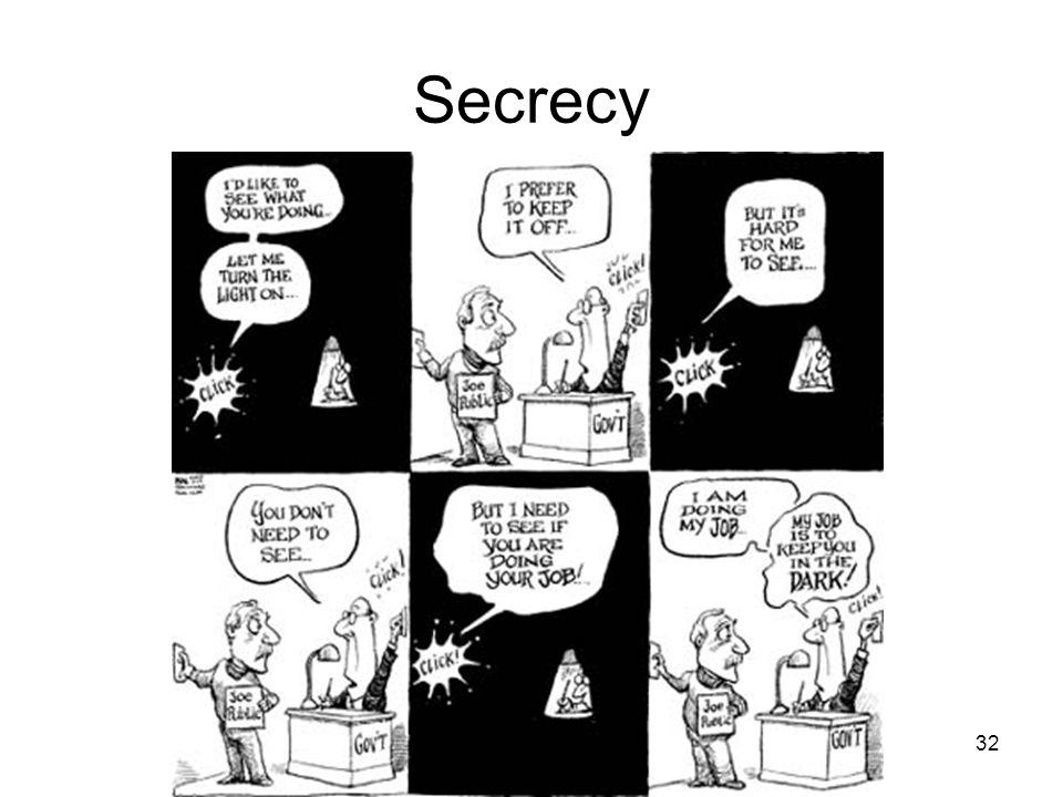 Secrecy 32
