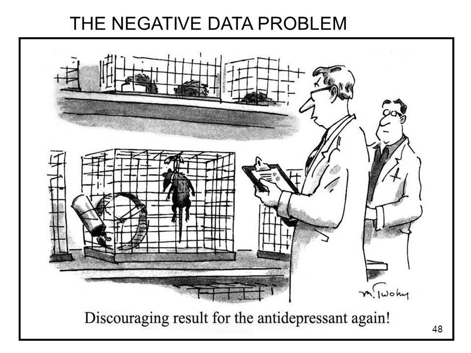 THE NEGATIVE DATA PROBLEM 48