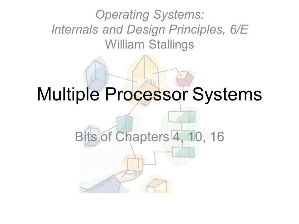 Parallel Processor Architectures