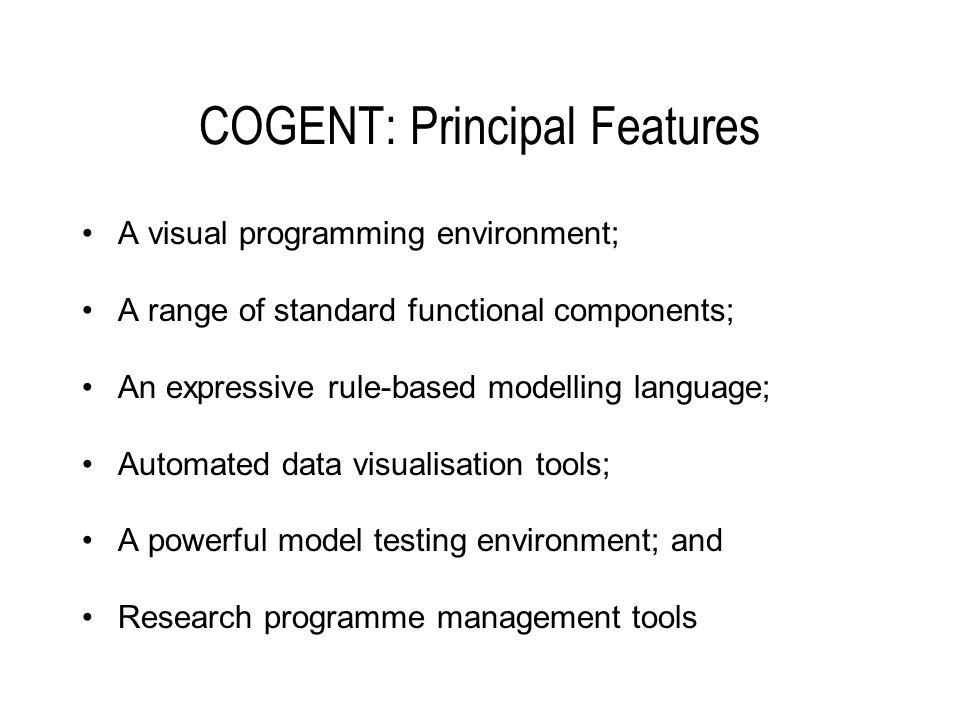 Visual Programming in COGENT
