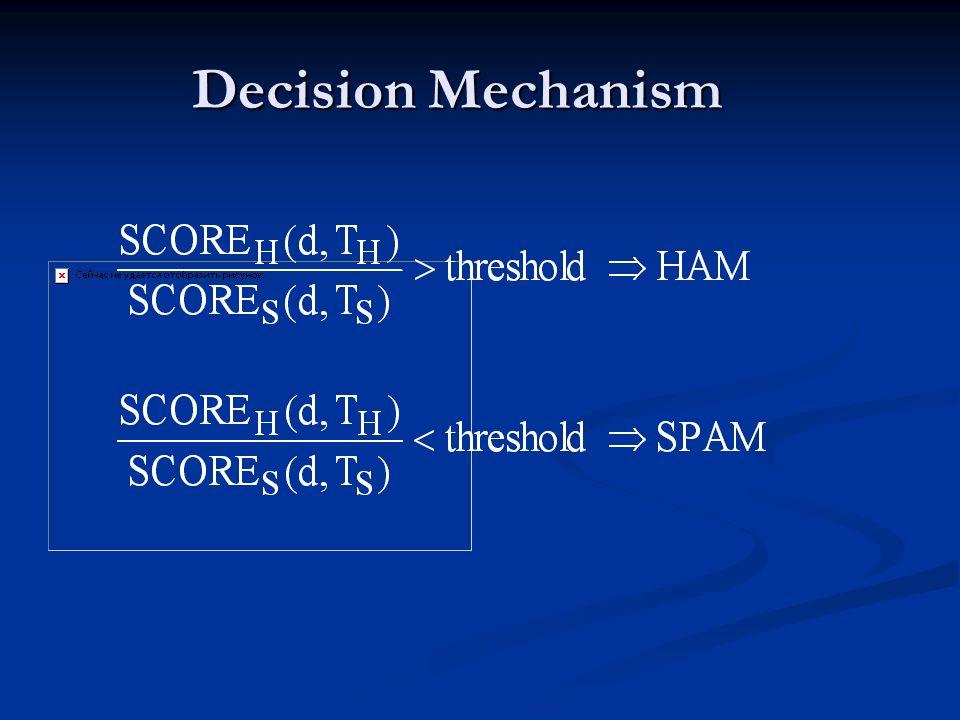 Decision Mechanism