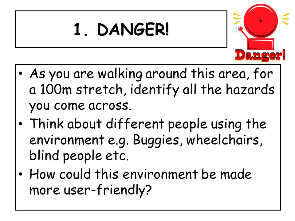 1. DANGER.