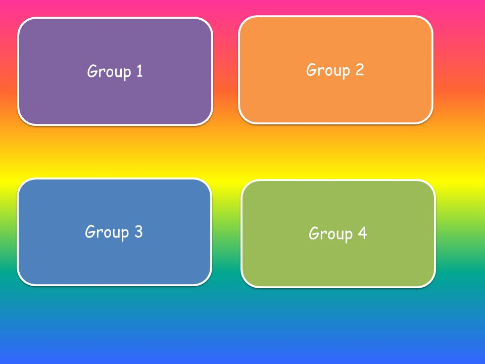 Group 1 Group 2 Group 3 Group 4