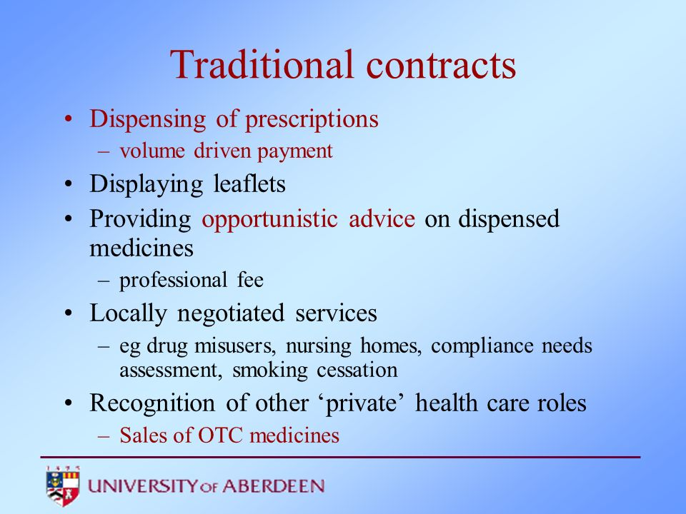 Attributes Advice –None, only on medicines, only on health/lifestyle, both Time (travelling to and in the pharmacy) –10,20,30,40 min Privacy (in the pharmacy) Satisfactory replies to questions –Yes, No Chance of receiving most appropriate treatment –Very poor, poor, good, very good How much you pay ( medicine + advice+ review+ travel) –£0, £10, £20, £30
