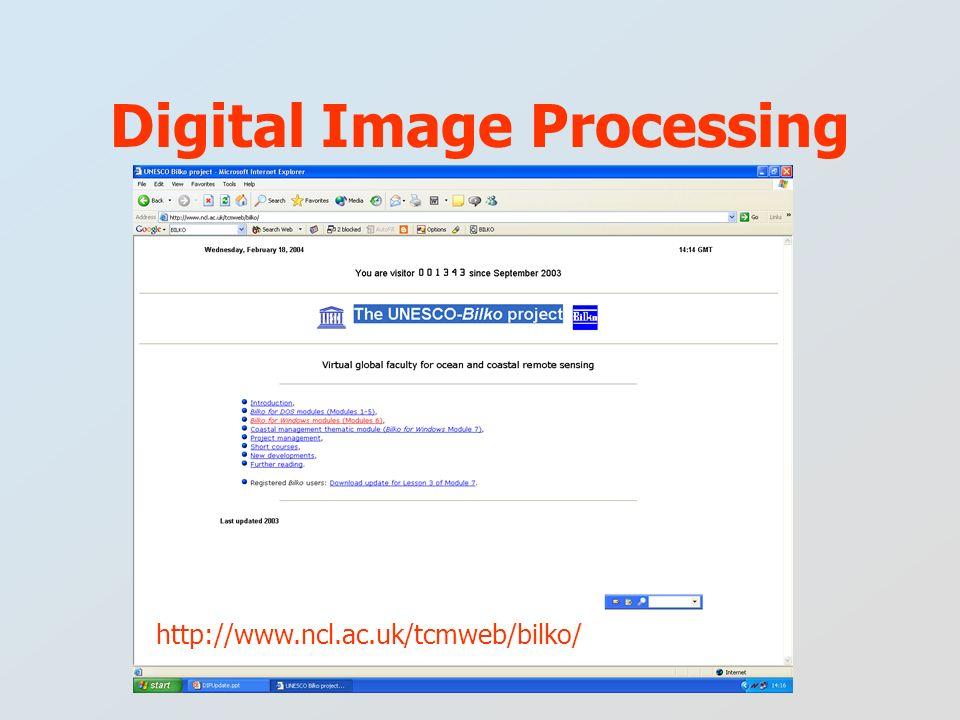 Digital Image Processing http://www.ncl.ac.uk/tcmweb/bilko/