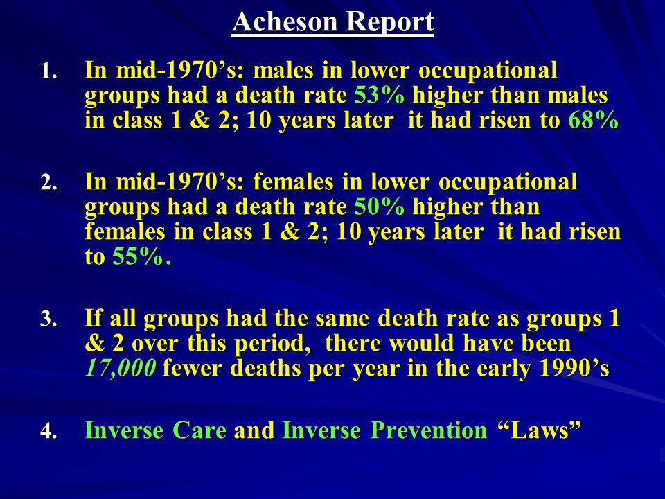 Acheson Report 1.
