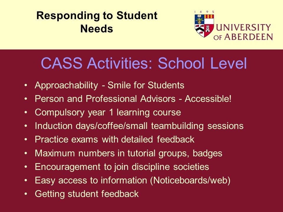 Approachability - Smile for Students Person and Professional Advisors - Accessible.