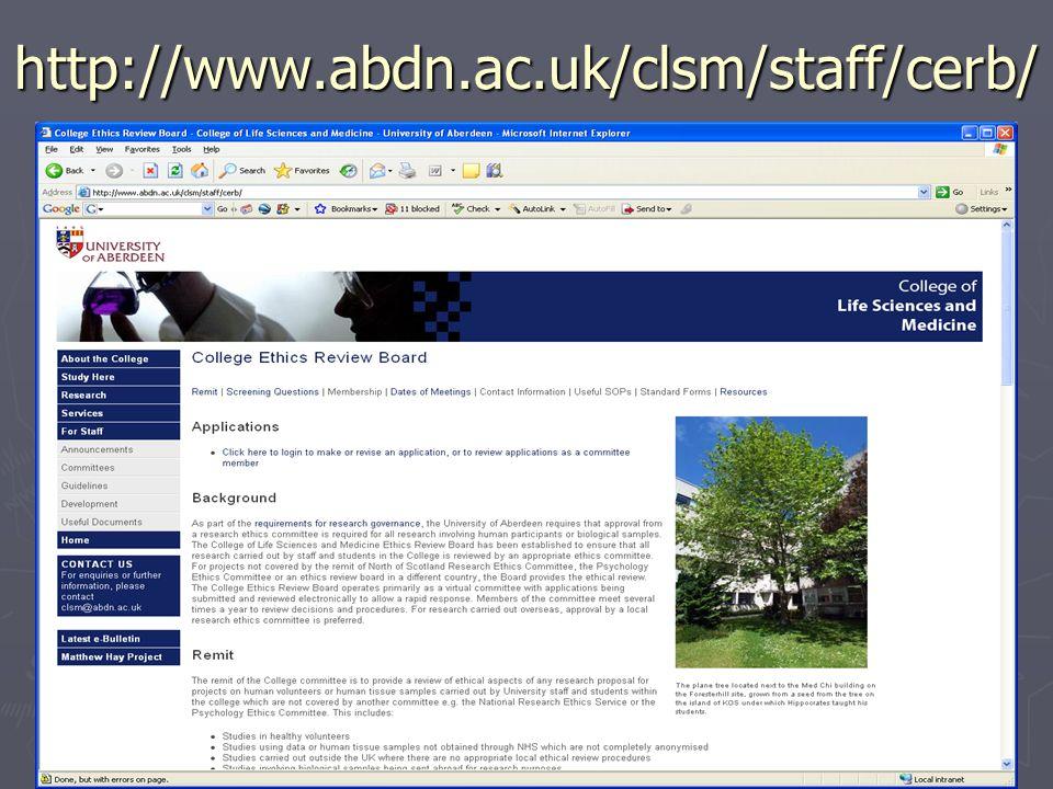 http://www.abdn.ac.uk/clsm/staff/cerb/