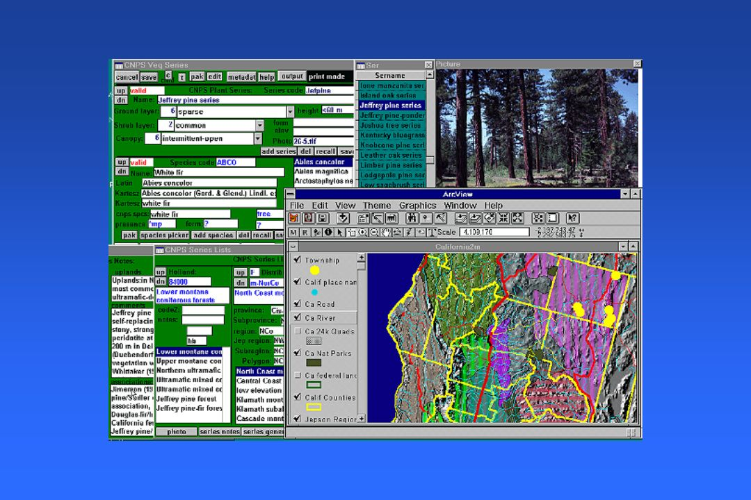 GIS Provides the Framework for Studying Complex Systems
