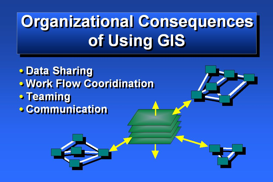 GIS Helps Us Better Organize Our Institutions