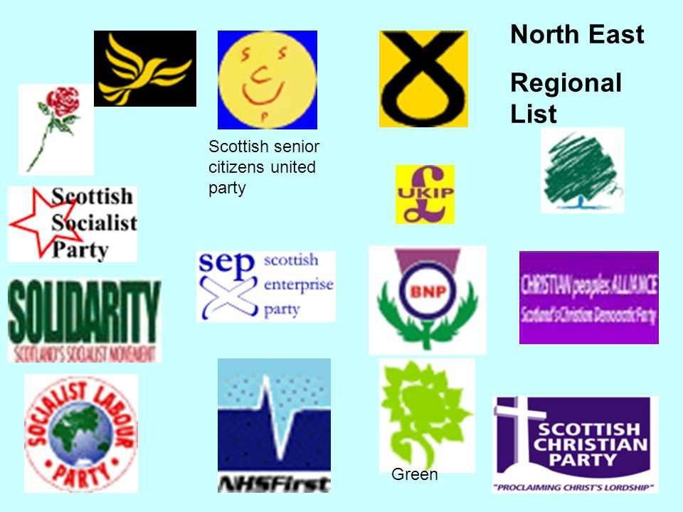 North East Constituencies In eight out of nine seats only the four main parties stood In Gordon the four main parties stood + Scottish Enterprise Party and two Independents
