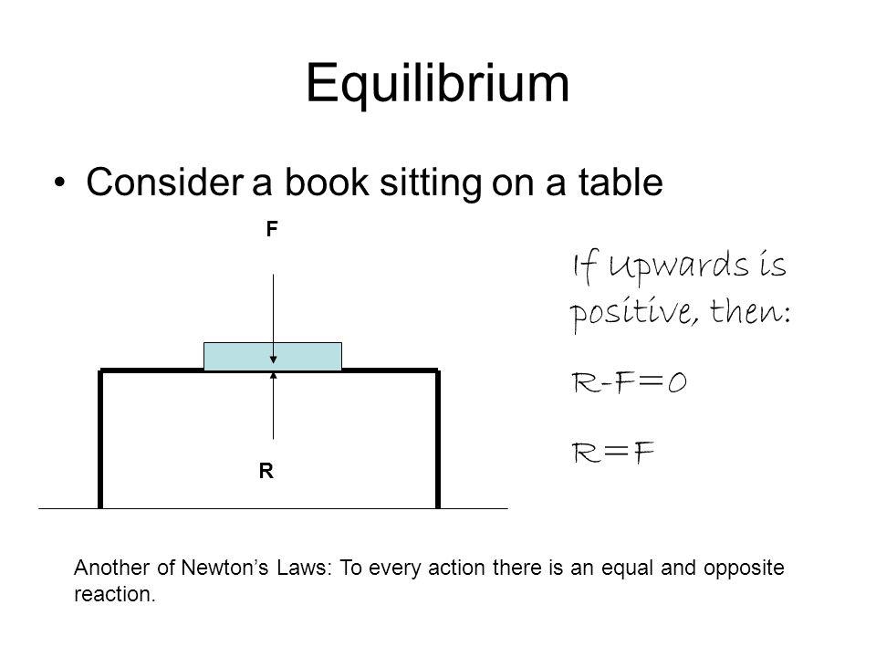 Consider Book Falling Assume parachute very light F P Total upward force = P-F P-F=-ma F – P = ma But F=mg So: mg-P=ma