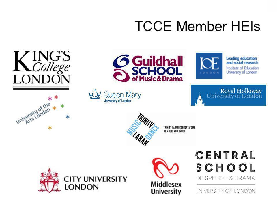 TCCE Member HEIs