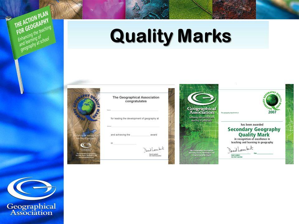 Quality Marks Quality Marks