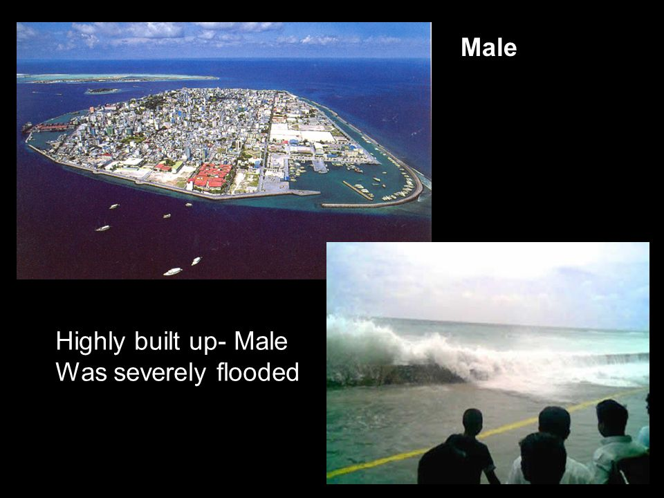 Male Highly built up- Male Was severely flooded