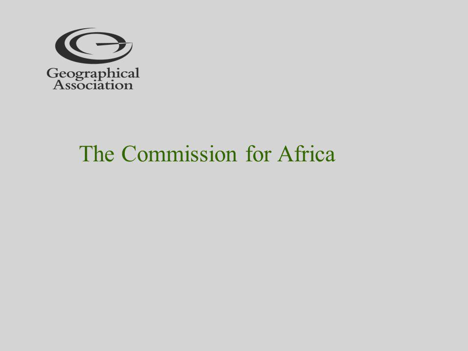The Commission for Africa