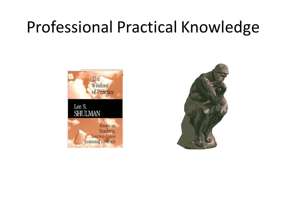 Professional Practical Knowledge
