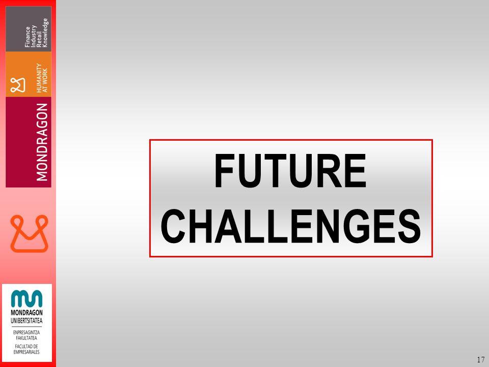 17 FUTURE CHALLENGES