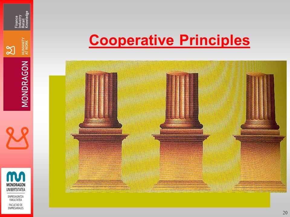 20 Cooperative Principles