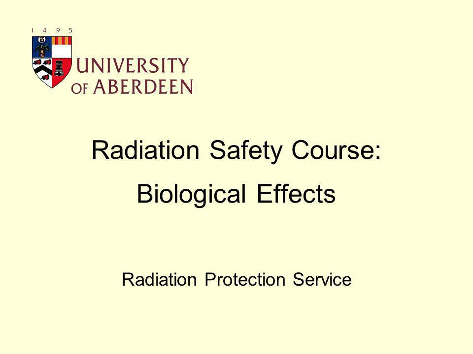 Ionising Radiation Ionising radiation can be a hazard because it interacts with matter and can produce changes at molecular level Damage caused by direct or indirect ionisation –DNA is the most important cellular constituent to be damaged by radiation