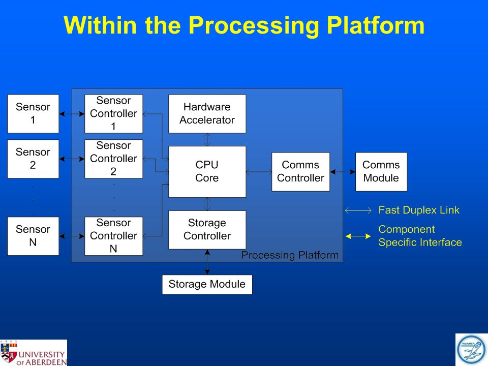 Within the Processing Platform