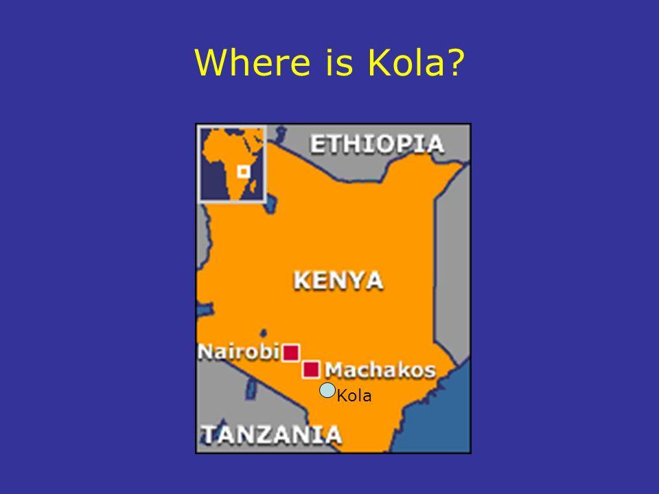 Where is Kola Kola